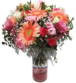 13 no vazoda çiçek