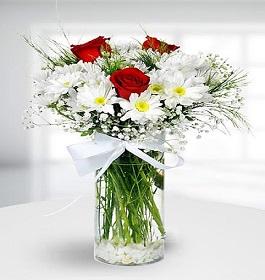 4 no vazoda çiçek