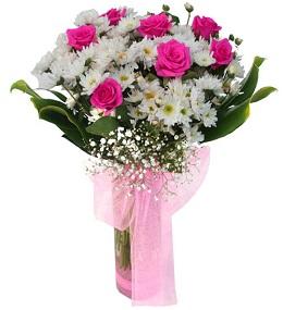 10 no vazoda çiçek