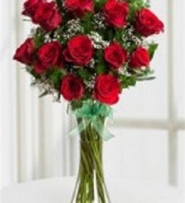 9. vazoda çiçek