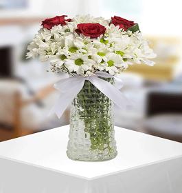 3 no vazoda çiçek